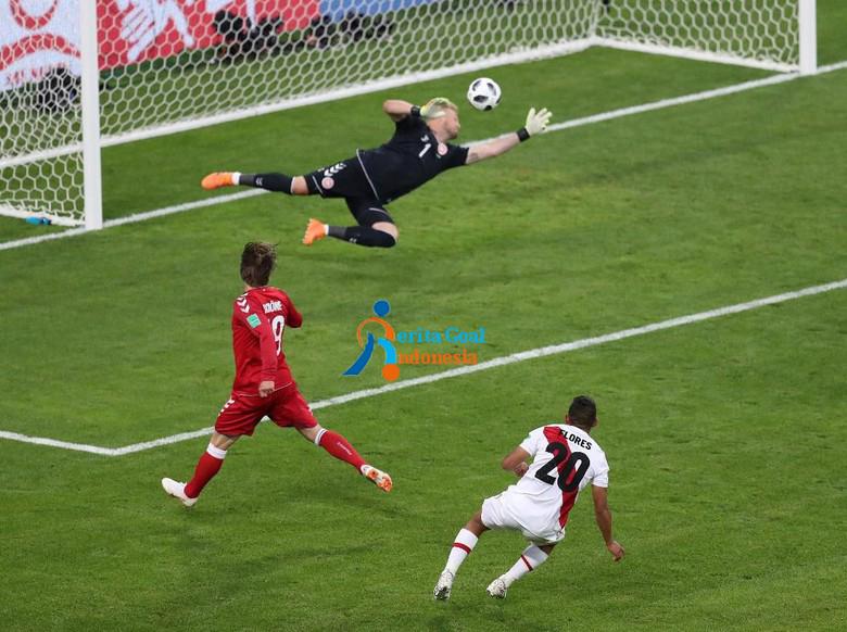 Denmark menang 1-0 atas Peru