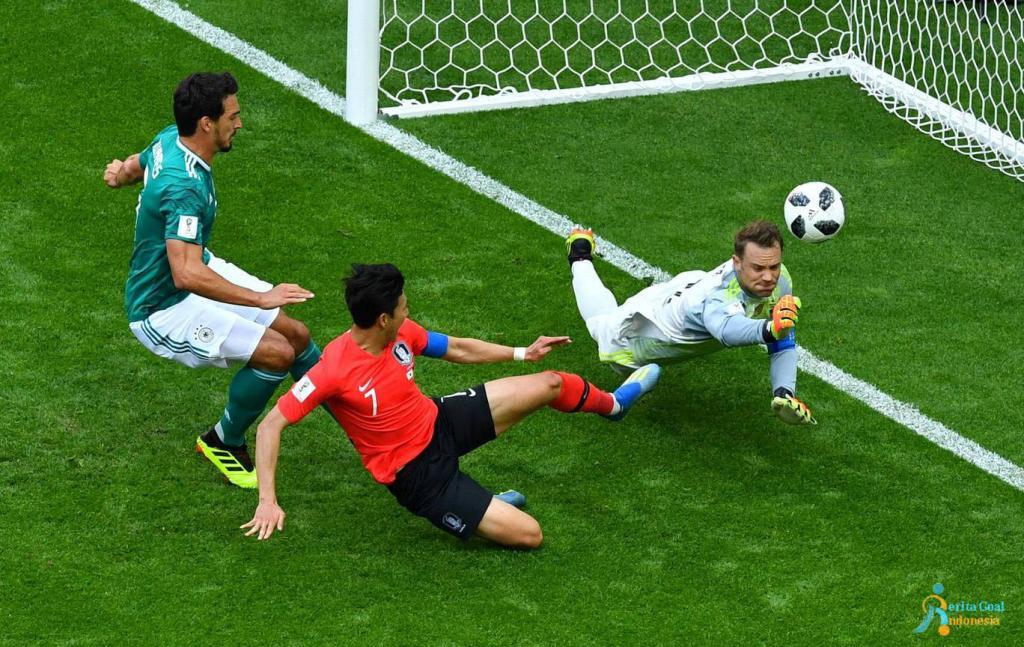 Jerman Tersingkir, Korea Selatan vs Jerman 2-0