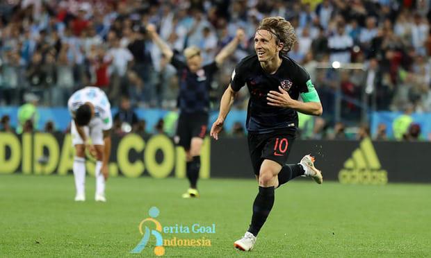 Argentina Dibantai, Kroasia Menang 3-0