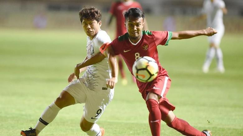 Kalah Uji Coba, Indonesia U-23 vs Korea Selatan 1-2