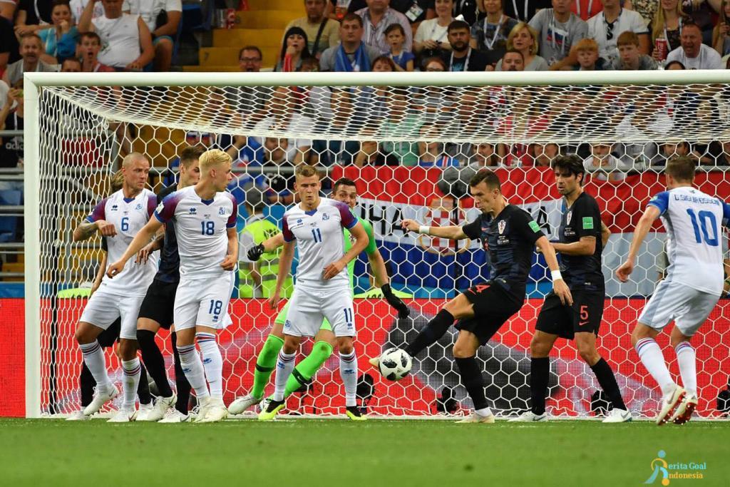 Sapu Bersih Kemenangan, Kroasia vs Islandia 2-1