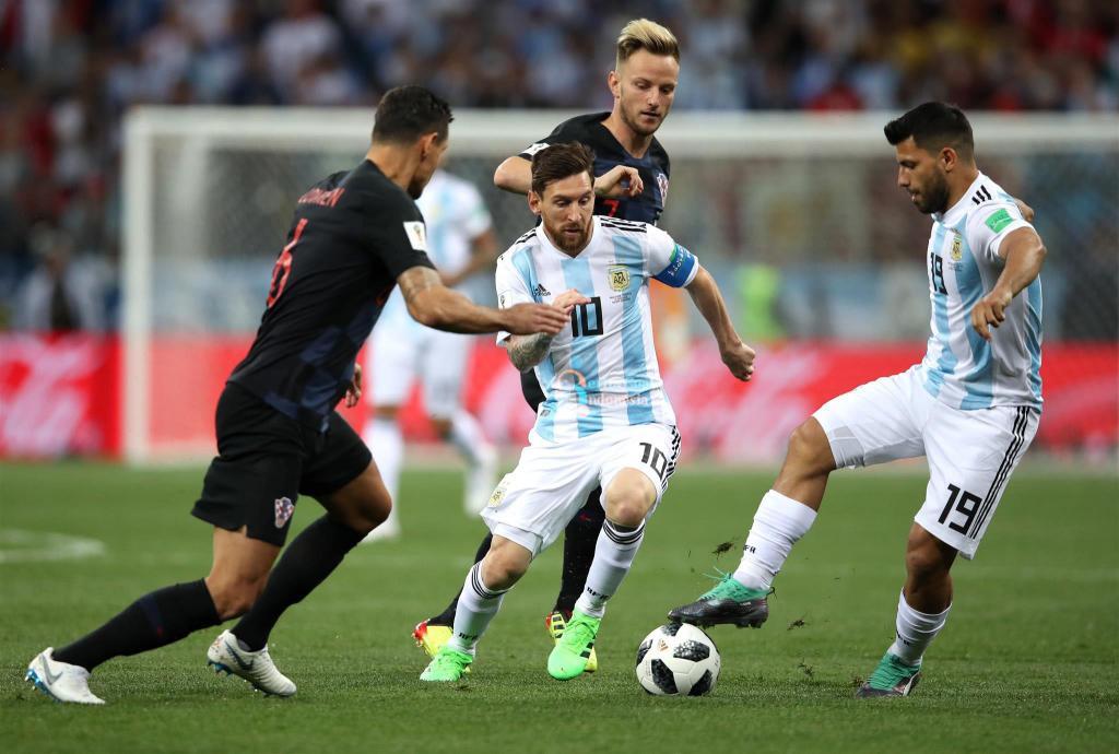 Argentina vs Kroasia