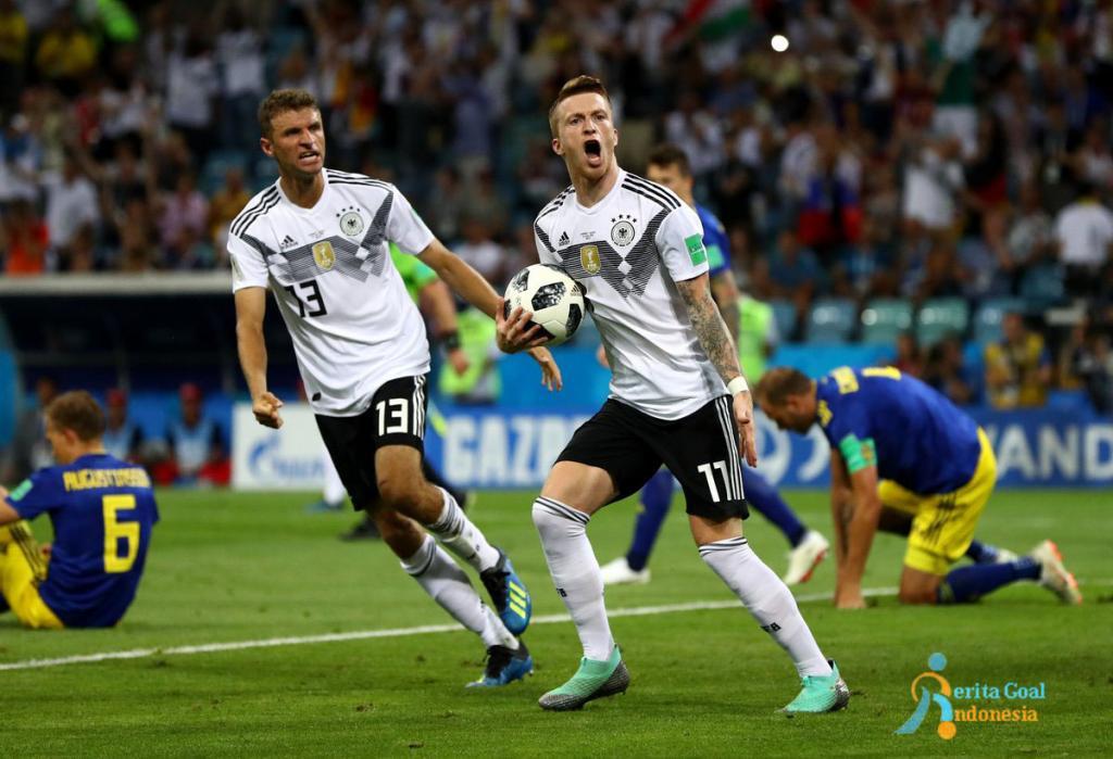 Injury Time, Jerman vs Swedia 2-1