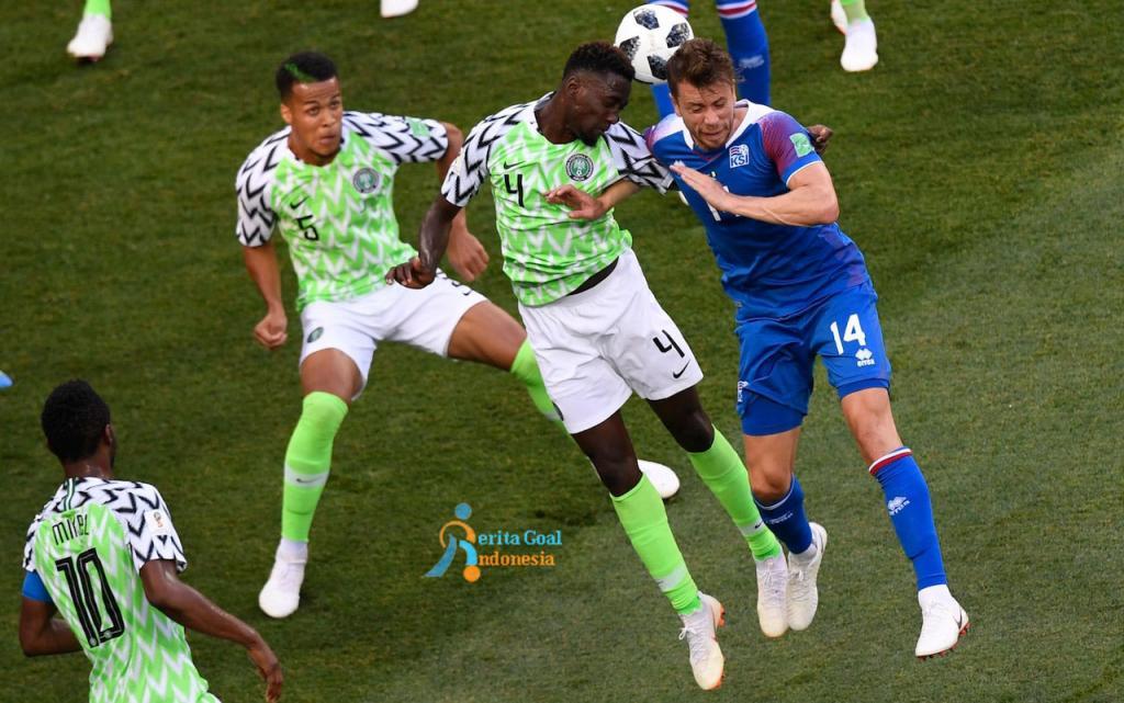 Gol Ahmed Musa, Nigeria Tekuk Islandia 2-0