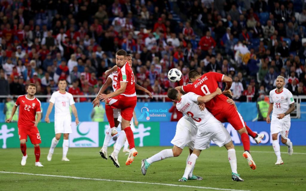 Bangkit, Swiss Ungguli Serbia 2-1