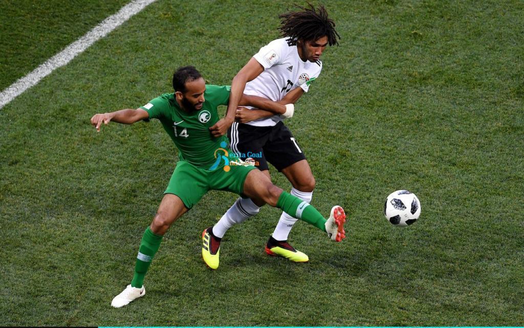 Gol Tunggal Salah, Arab Saudi vs Mesir 2-1