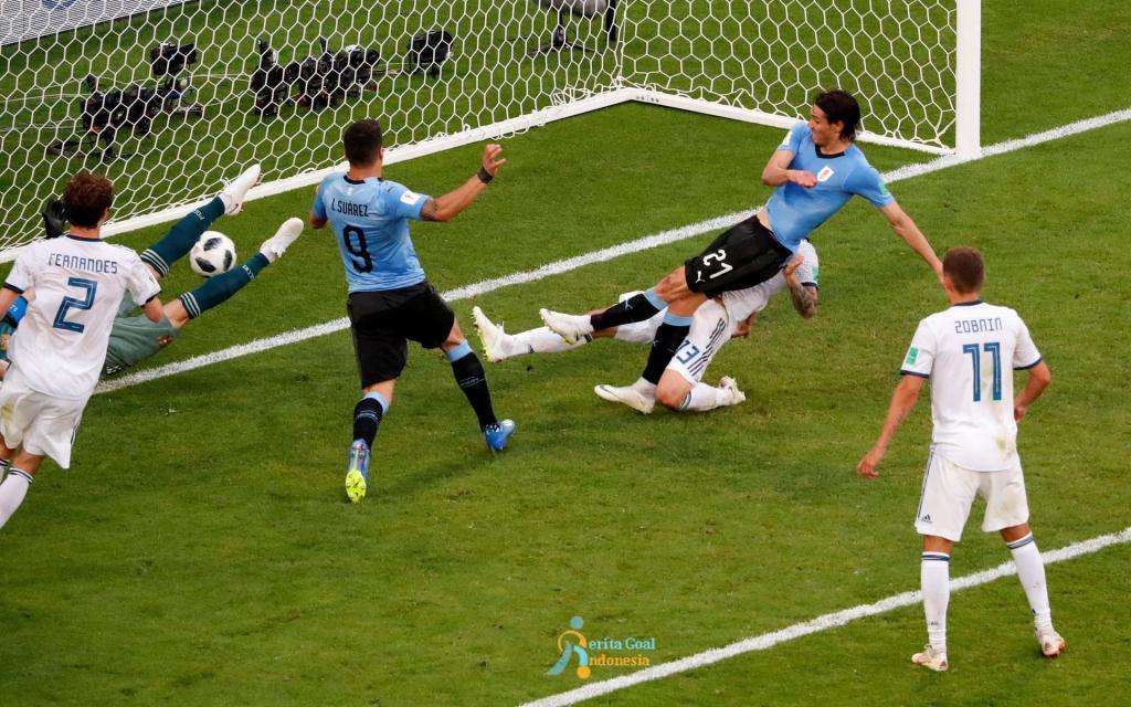 Uruguay Juara Grup A Piala Dunia 2018