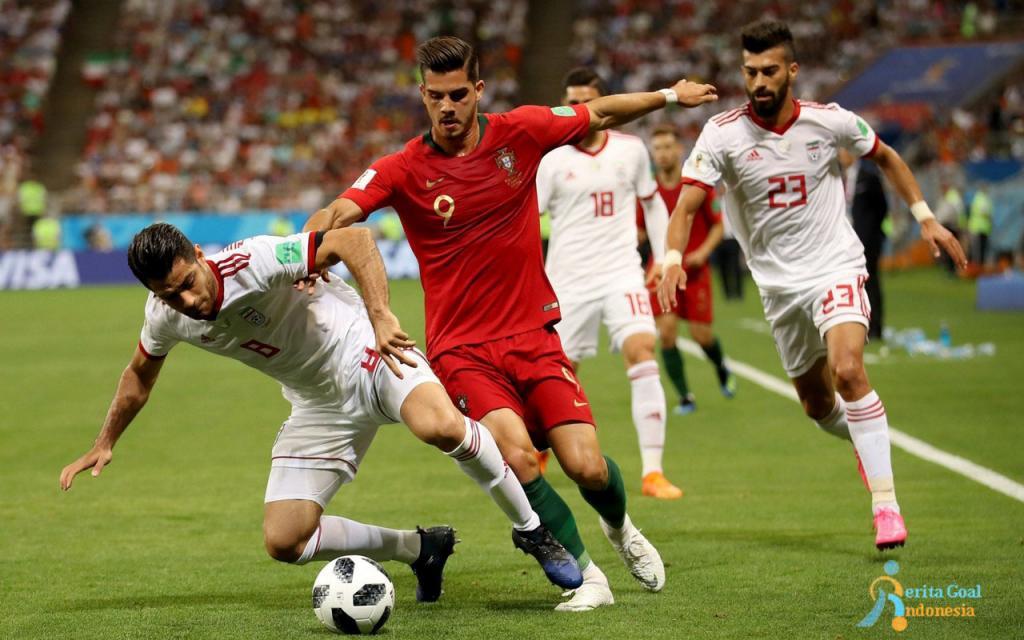 Portugal vs Iran 1-1, Cristiano Ronaldo