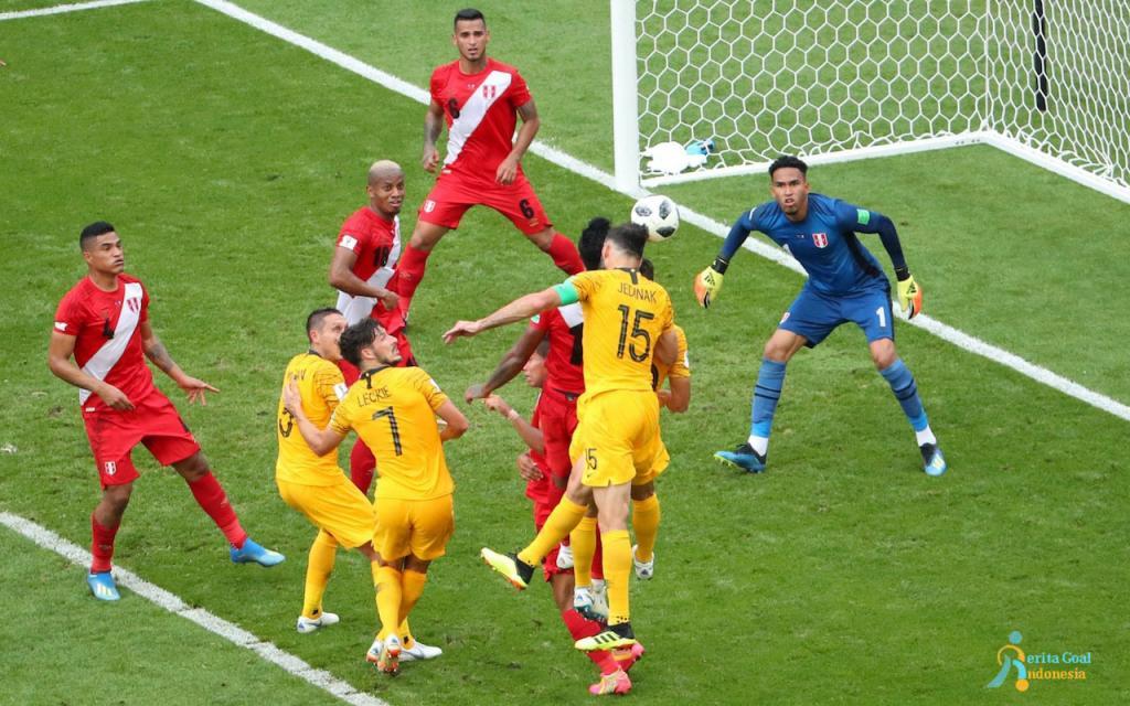 Tereleminasi, Australia vs Peru 0-2