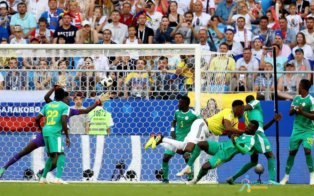 Senegal vs Kolombia 0-1, Kolombia Berlanjut