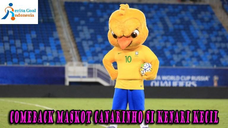 Comeback Maskot Canarinho Si Kenari Kecil