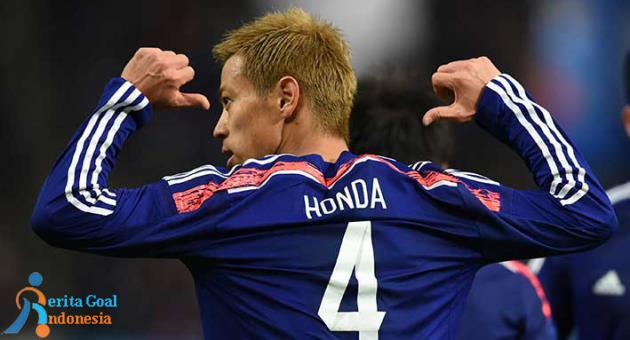 Keisuke Honda Cetak Sejarah di Piala Dunia