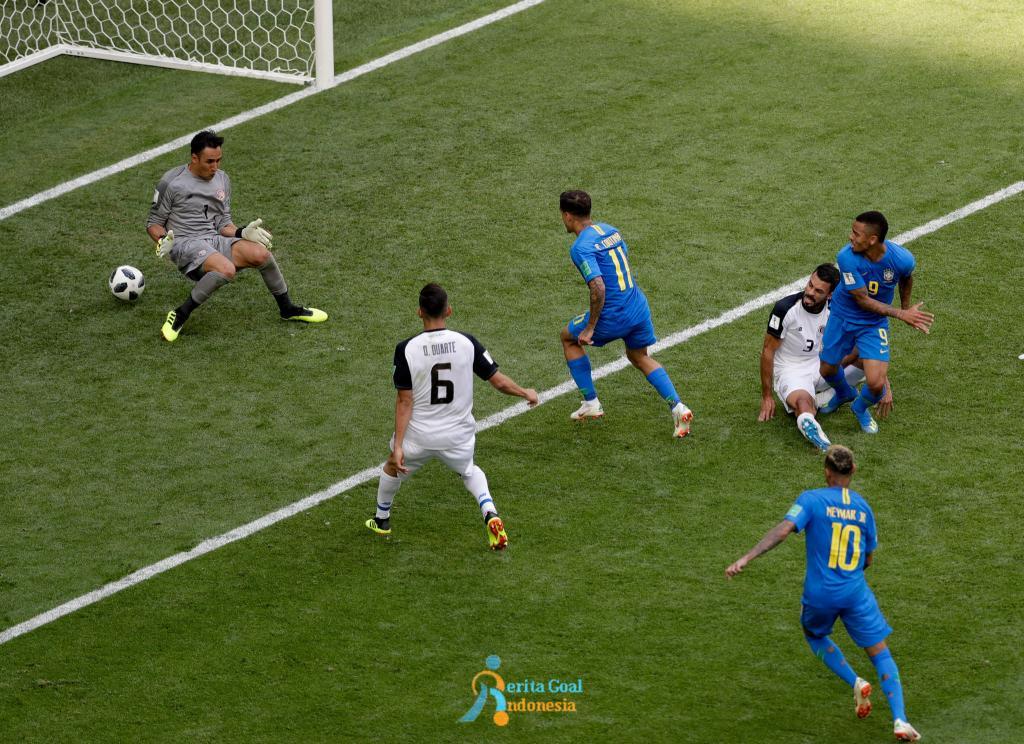 Brazil vs Kosta Rika