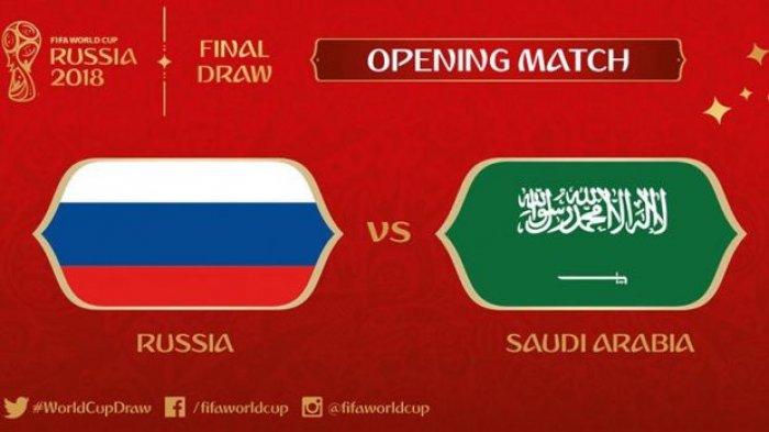 Tiga Pemain Kunci Rusia dan Arab Saudi