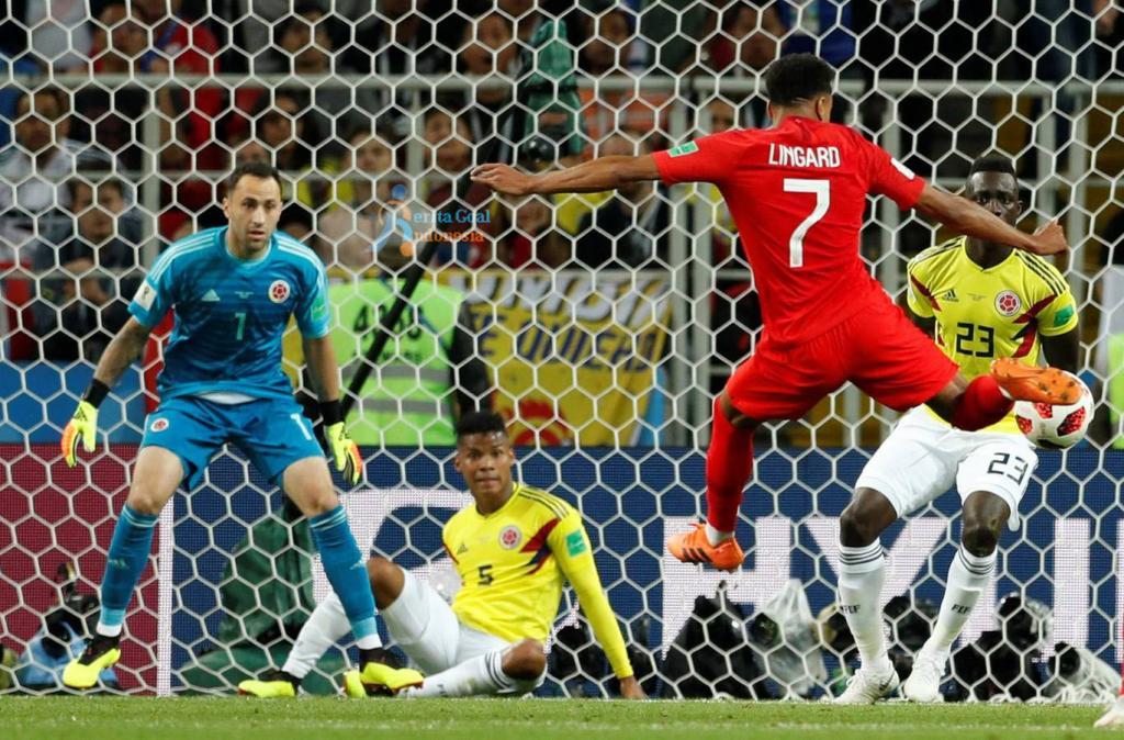 Inggris vs Kolombia