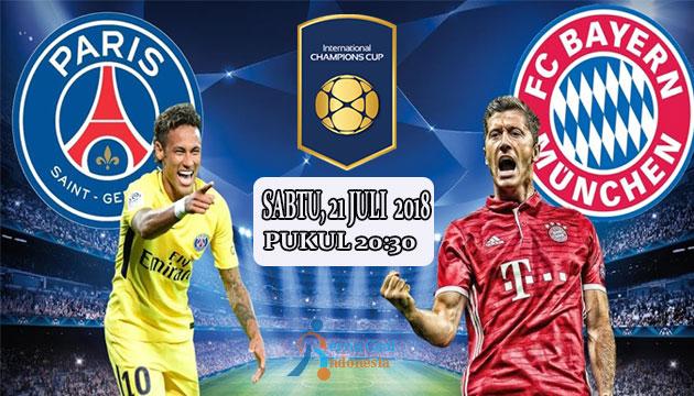 21 Juli 2018, Prediksi Bayern Munchen Vs PSG