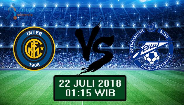 22 Juli 2018: Prediksi Score Inter Milan vs Zenit St