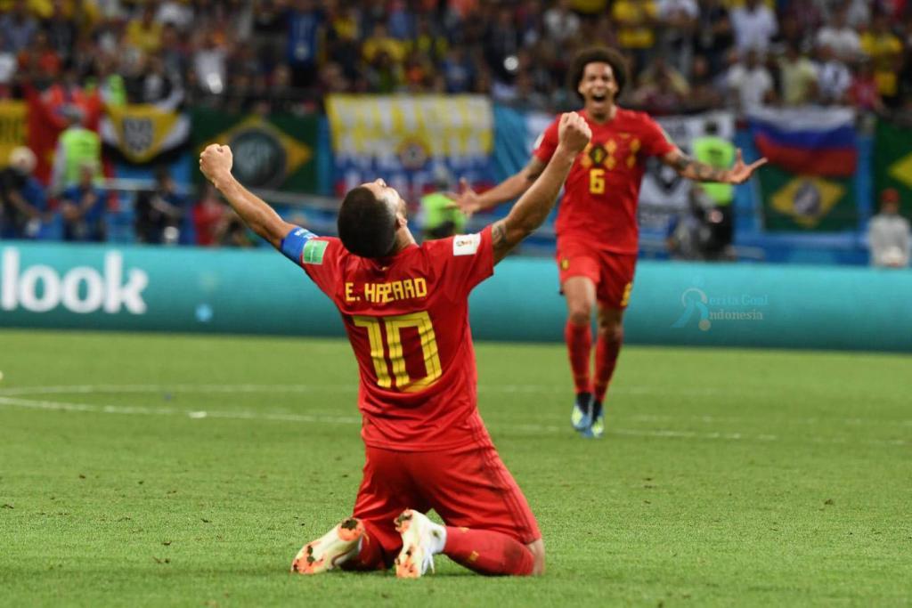 Akhir Drama Neymar, Brasil vs Belgia 1-2