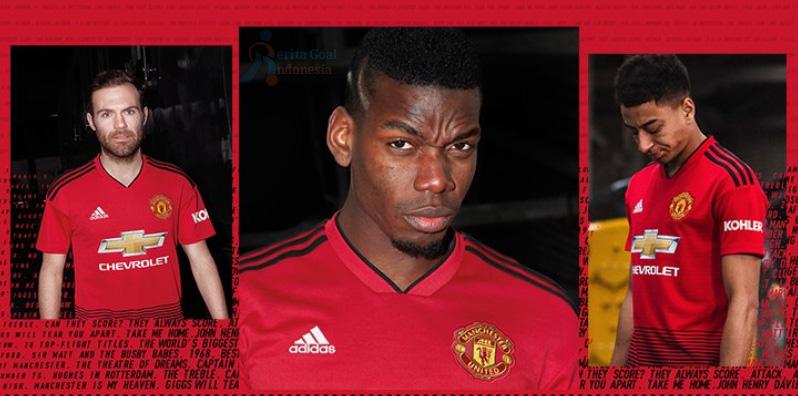 Jersey Baru Manchester United Untuk Awal Musim 2018/2019