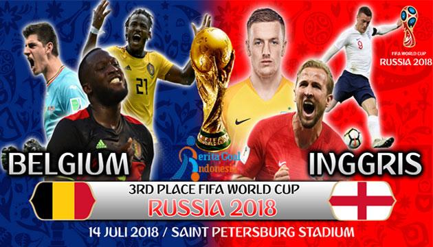 Belgia Dan Inggris Kembali Bentrok Untuk Perebutan Juara Ketiga