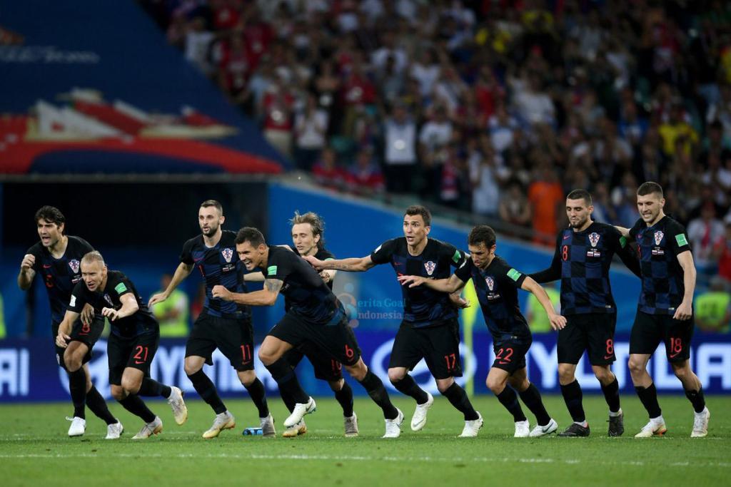 Rusia vs Kroasia 2-2, Kroasia Menang Penalti