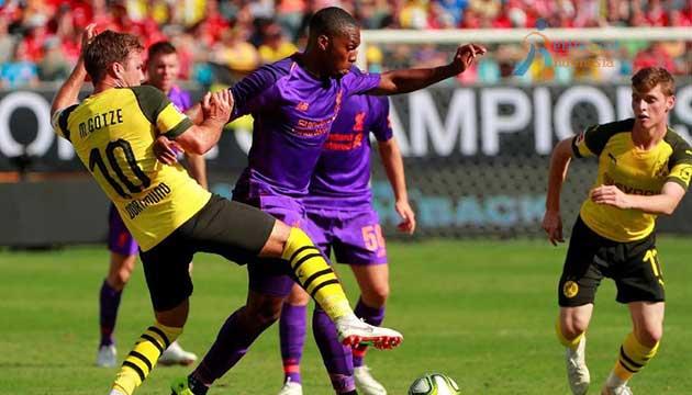 Liverpool Dikalahkan Dortmund 1-3