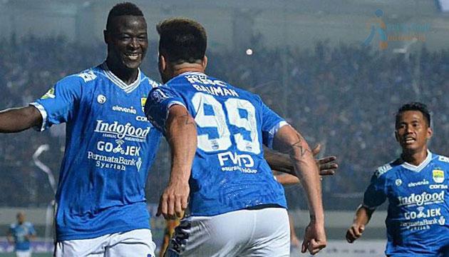 Persib Bandung Serta Borneo FC Sukses Meraih Tiga Poin
