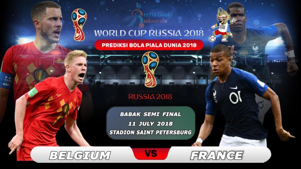 Prediksi Prancis vs Belgia Di Semi Final Piala Dunia 2018