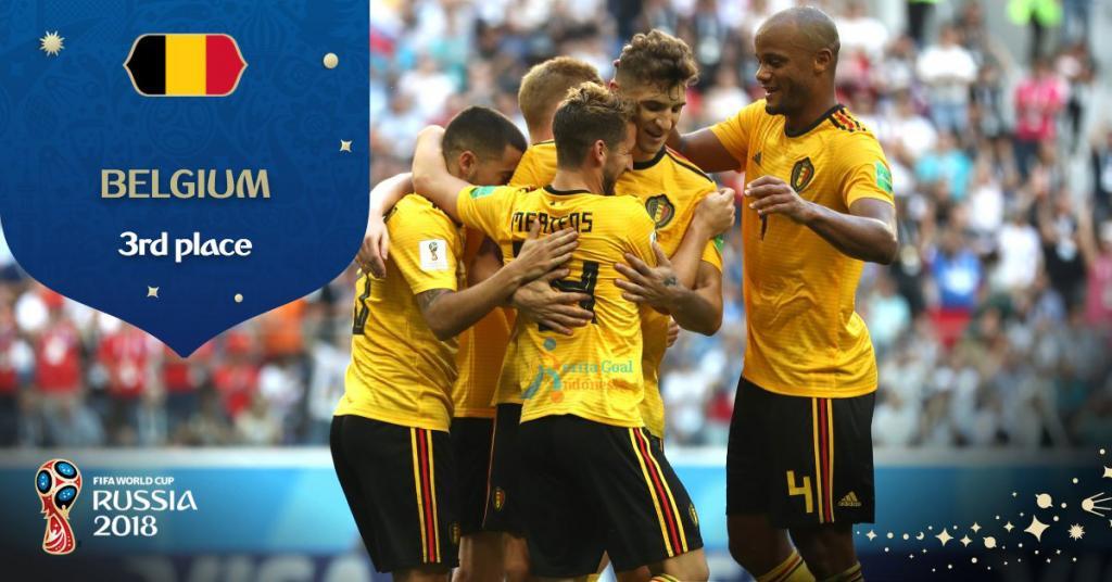 Belgia Ukir Sejarah Dengan Menjuarai Peringkat ke-3