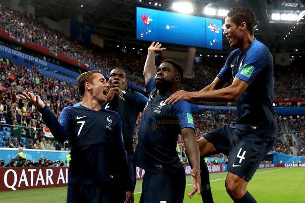 Score Piala Dunia 2018 : Prancis Vs Kroasia Skor 4-2
