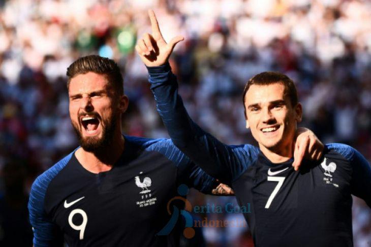 Courtois Sebut Perancis Antisepakbola, Griezmann: Yang Penting Piala