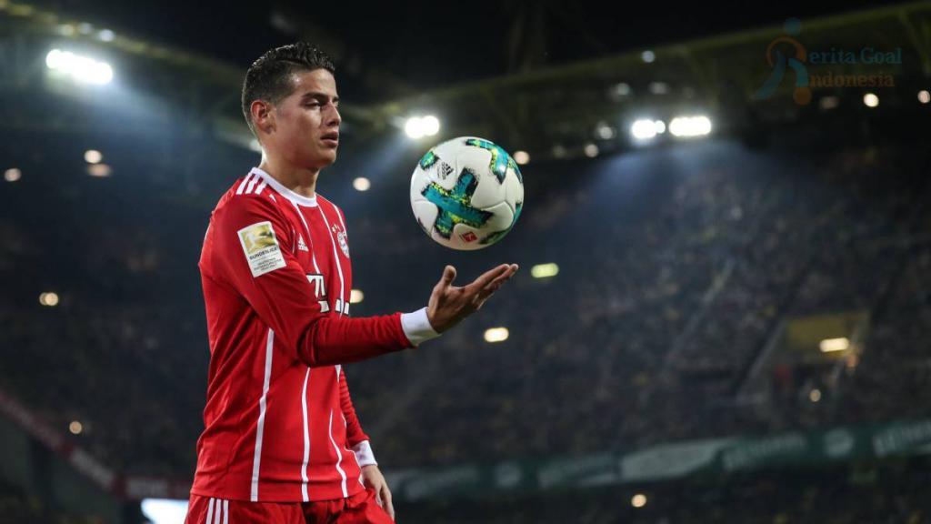 Pilihan James Rodriguez Untuk Tetap Tinggal di Bayern Munich