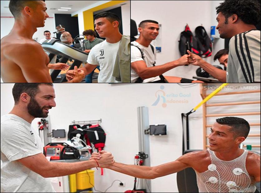 Kedatangan Ronaldo Disambut Baik Pemain Juventus