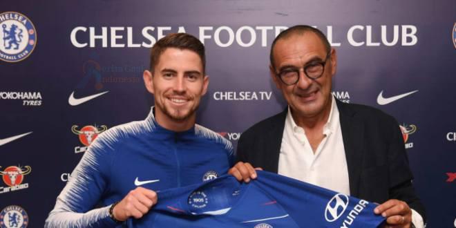Chelsea Mendapatkan Sarri Dan Jorginho