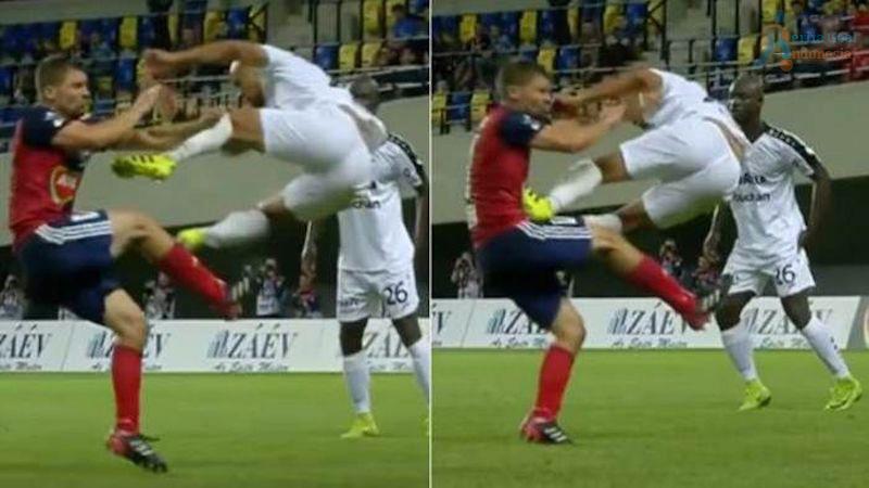 Peragaan Kung Fu Terlihat Pada Dunia Sepak Bola di Sesi Kualifikasi Liga Champions