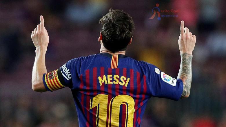 Liga Spanyol, Barcelona Beruntung Ada Lionel Messi di Grupnya