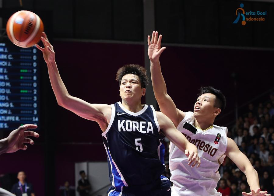 Asian Games 2018 : Timnas Basket Putra Gugur Kalah Dengan Korea 65-104