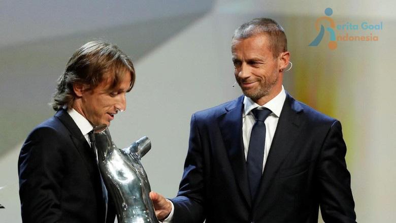 Luka Modric Terpilih Sebagai Pemain Terbaik UEFA 2017/2018