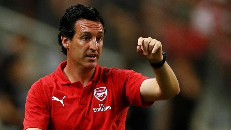 Pelatih Arsenal, Emery, Ketagihan Lawan Guardiola
