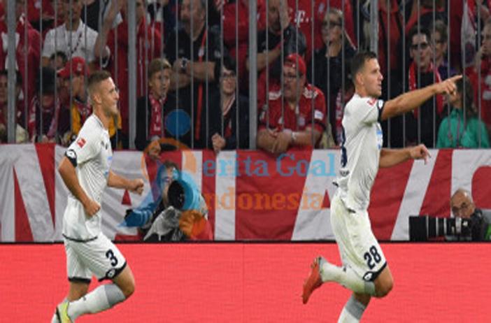 Hasil Liga Jerman, Bayern Muenchen Puncaki Klasemen