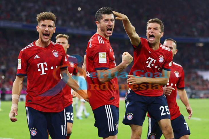 Hasil Liga Jerman, Bayern Muenchen Puncaki Klasemen Dengan Menang Atas Hoffenheim 3-1