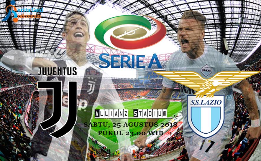 Prediksi Juventus vs Lazio pada 25 Agustus 2018