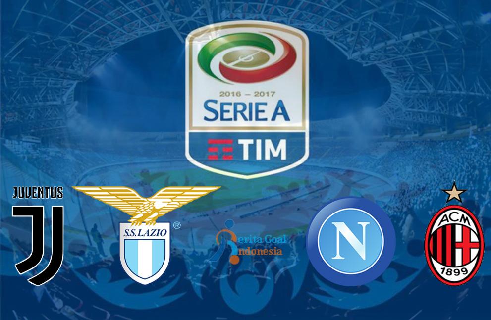 Laga Panas di Pekan Kedua Liga Italia : Juventus Vs Lazio, Napoli Vs Milan
