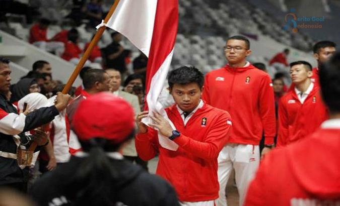 Tiga Butir Pengukuhan Janji Atlet Indonesia Untuk Asian Games 2018
