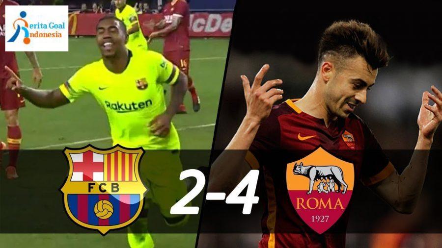 Hasil Turnamen ICC 2018 Roma Tundukkan Barcelona 4-2