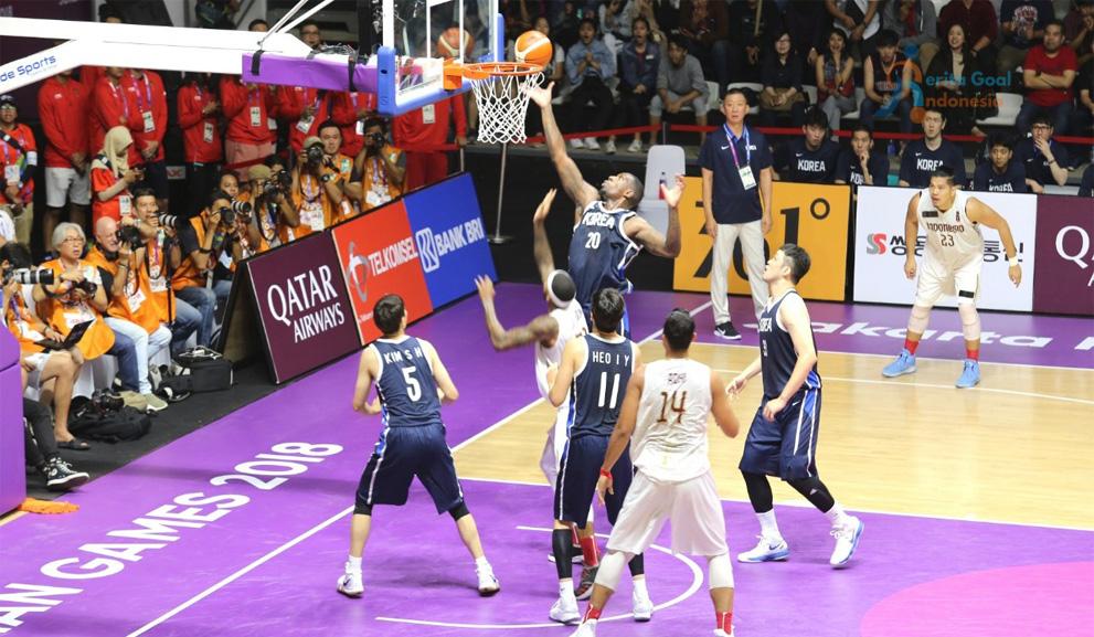 Timnas Basket Putra Gugur Kalah Dengan Korea 65-104 di Laga Pertama Asian Games 2018