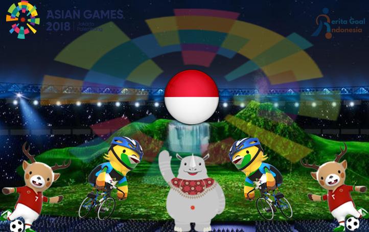 Presiden Jokowi Meresmikan Pembukaan Asian Games 2018 di SGBK Jakarta