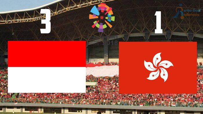 Asian Games 2018, Hasil Sepakbola: Indonesia Juara Grup Seusai Mengalahkan Hongkong 3-1