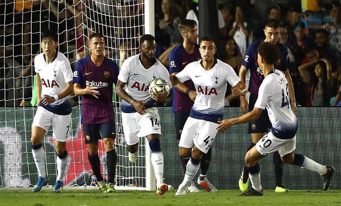 Turnamen ICC 2018: Tottenham Juara, Barcelona Menjadi Juru Kunci