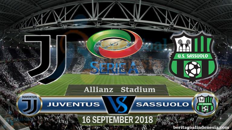 Prediksi Seria A 2018/19 Juventus vs Sassuolo